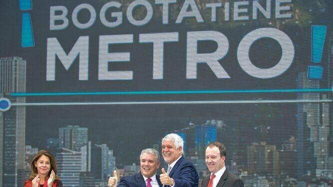 Consorcio chino edificará metro de Bogotá