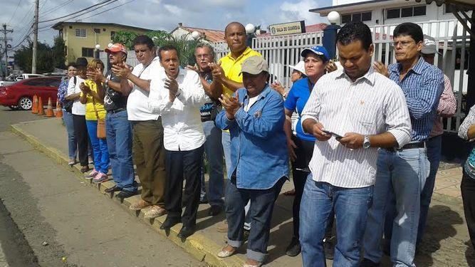 Liberan a nueve miembros de la Coordinadora Ciudadana de La Chorrera
