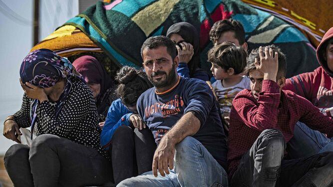 Más de 60 mil desplazados en ofensiva turca en el noreste de Siria