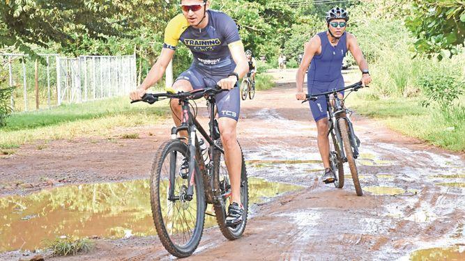 Triatlón panameño baja el telón en Santiago