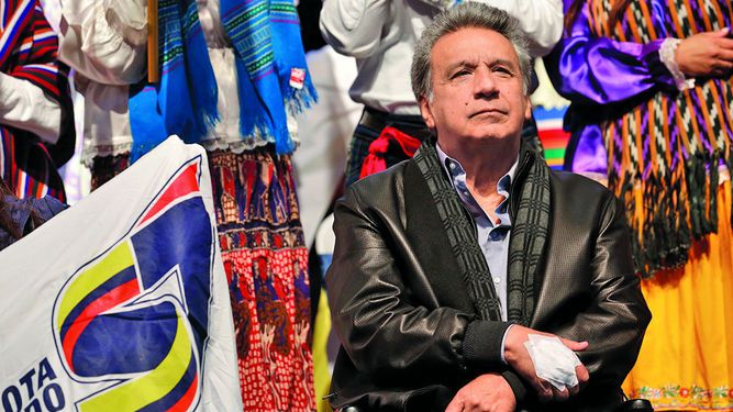 Lenín Moreno busca consolidarse con el referéndum