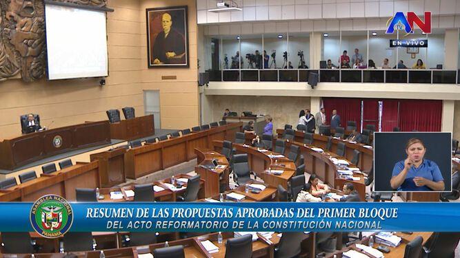Minuto a minuto: el pleno discute reformas a los órganos Legislativo, Ejecutivo y Judicial