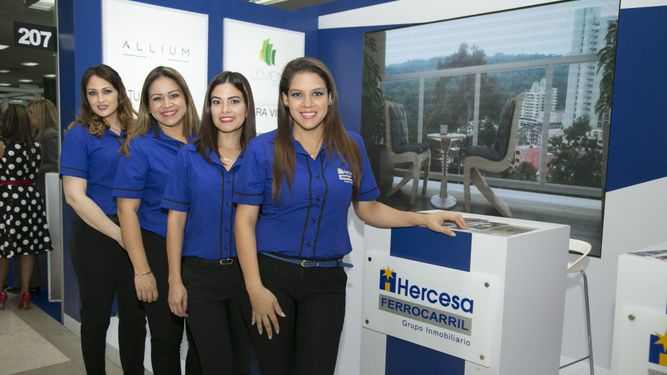 Hercesa Ferrocarril en Capac Expo Hábitat 2017