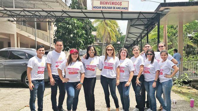 Grupo Provivienda hace entrega de donación al Hogar Bolívar