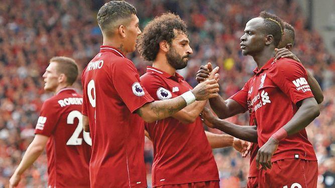 Liverpool y Mánchester City comienzan con el pie derecho