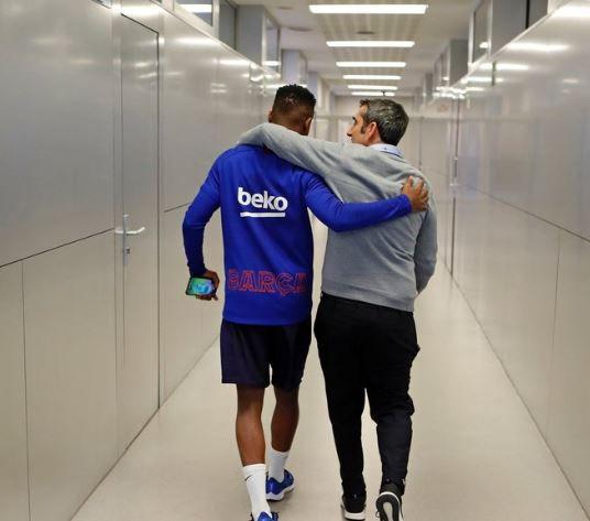 Ernesto Valverde se despide en una carta tras 'dos temporadas y media muy intensas'