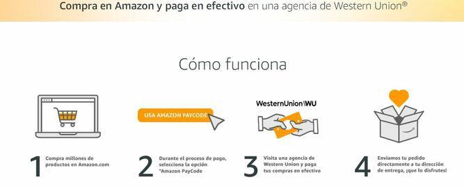 Amazon permite que compradores en Estados Unidos puedan pagar en efectivo