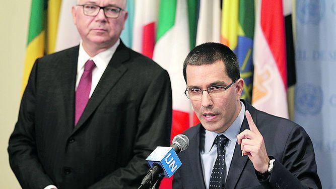 Venezuela rechaza apoyo de Macron y Rajoy a Tintori