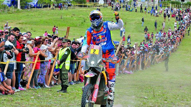 Austriaco Walkner gana el Dakar en motos