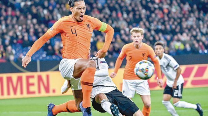 Holanda se mete en la 'final four' de la Liga de Naciones