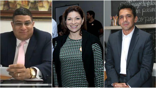 Dimitri Flores, Ana Matilde Gómez y Ricardo Lombana suman más simpatizantes