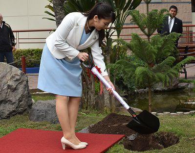 Princesa Mako celebra los 120 años de la migración japonesa en Perú
