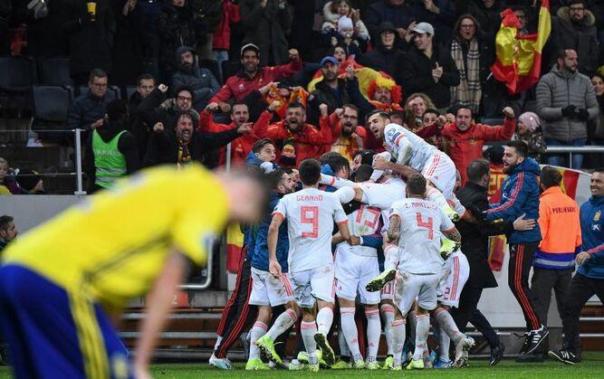 España se clasifica para la Eurocopa-2020 tras empatar