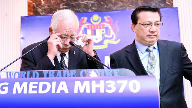 Malasia asegura que restos son de MH370