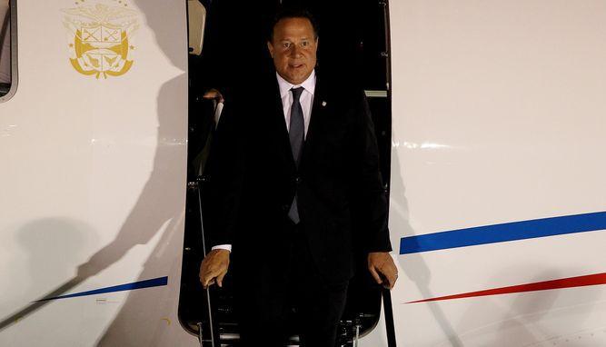Varela llega a Colombia y el lunes viajará a Guatemala