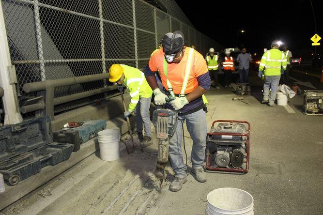 SPIA y MOP inspeccionan el puente de las Américas