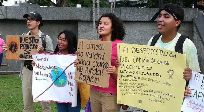 Millones de jóvenes hacen huelga global contra el cambio climático