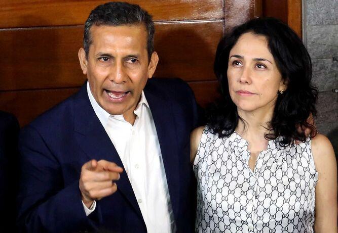 Allanan casa de expresidente peruano Humala y su esposa en investigación por el caso Odebrecht
