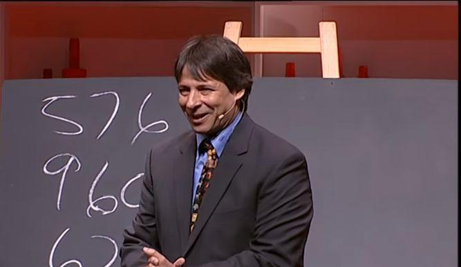 Conferencia de matemáticas con un toque de diversión