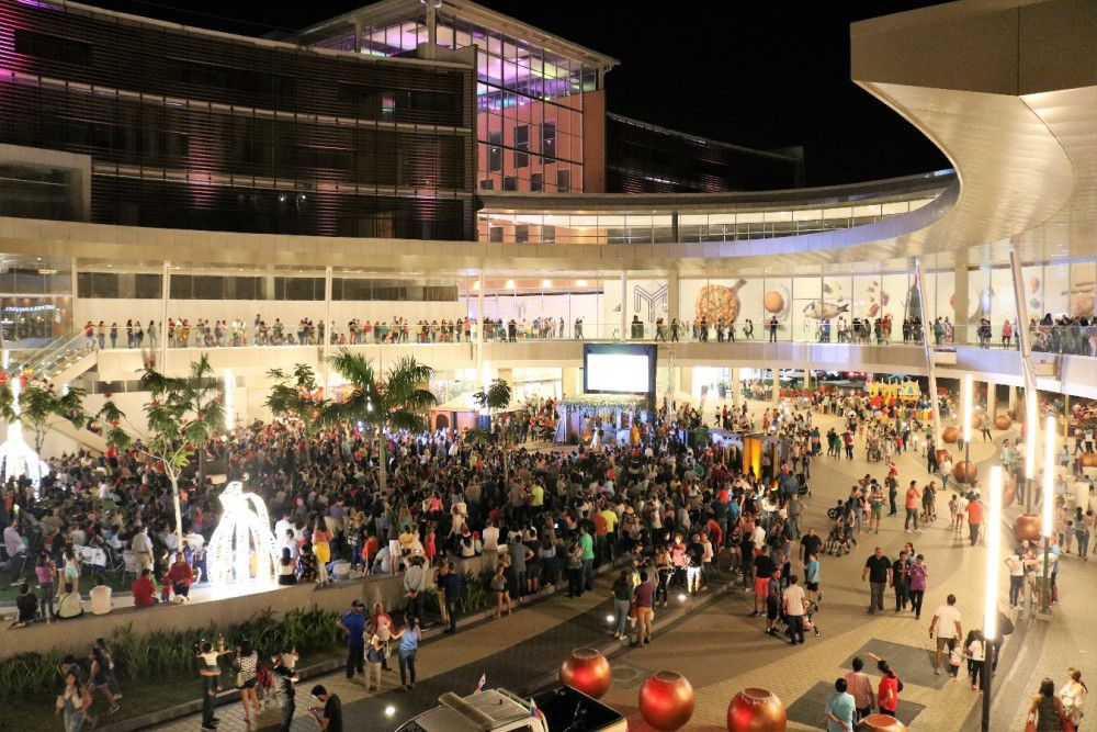Town Center Costa del Este, la sede de la Navidad en Panamá