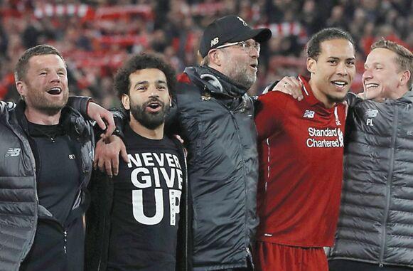 Liverpool hace historia con sus cuatro goles en el Anfield