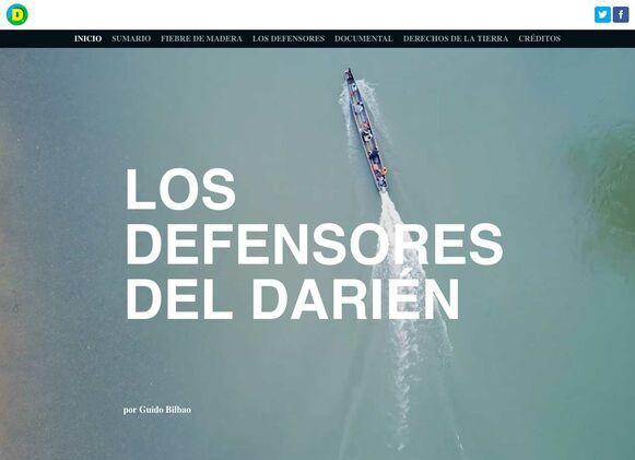 Especial multimedia: Los defensores del Darién