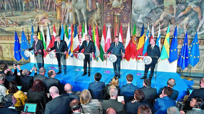 La Unión Europea celebra sus 60 años