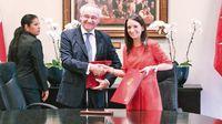 Firman acuerdo para atender desafíos humanitarios