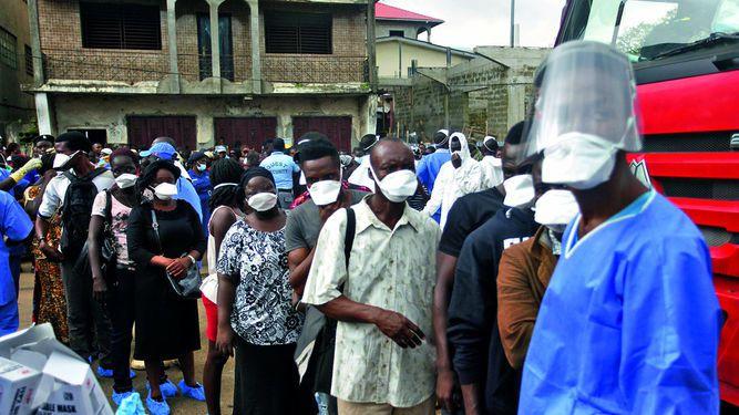 Sierra Leona busca a 600 desaparecidos