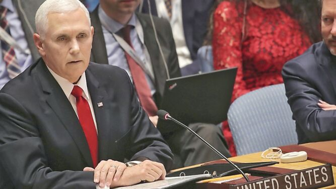 Reconocer a Guaidó como presidente de Venezuela, pide Pence