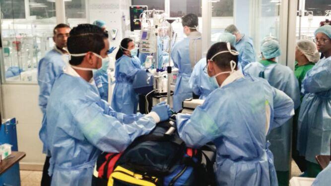 Comienza primer tratamiento de piel a menor víctima de explosión en P.H. Costa Mare