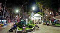 La ciudad de Panamá está iluminada
