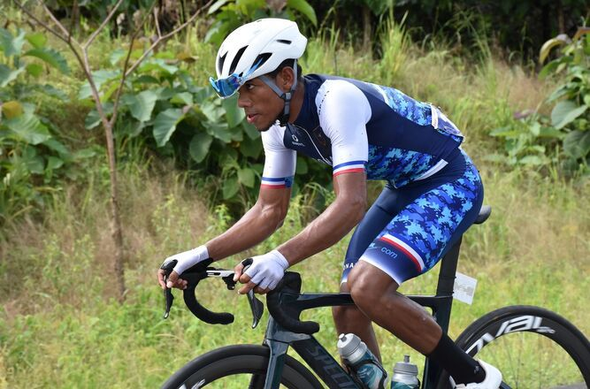 Christopher Jurado debutó en el Tour de Quanzhou Bay en China