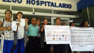 Pacientes con enfermedades crónicas y degenerativas protestan ante la falta de medicinas