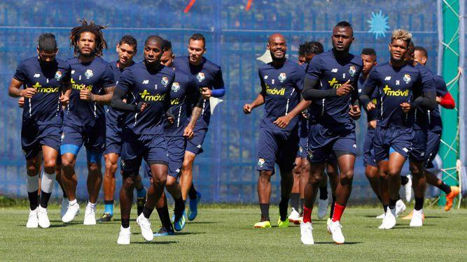 Panamá repetirá el mismo equipo titular ante Inglaterra