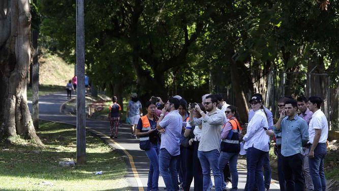 Diez empresas participan en reunión de homologación sobre proyecto en el parque Omar
