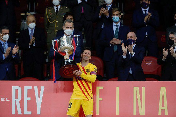 El Barça gana la Copa del Rey con un Lionel Messi estelar