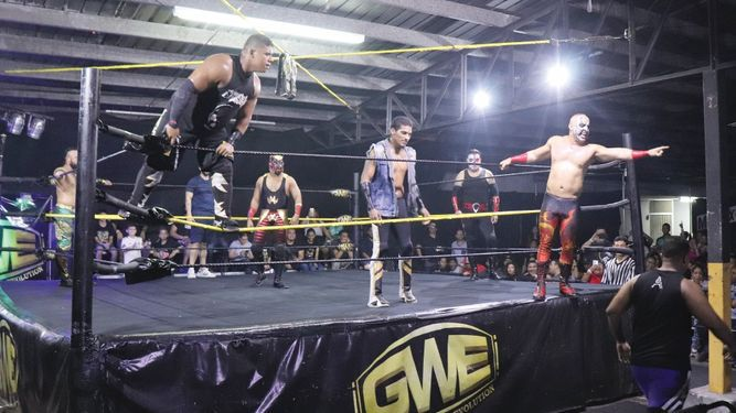 La lucha libre panameña de la GWE cierra 2018 con todo
