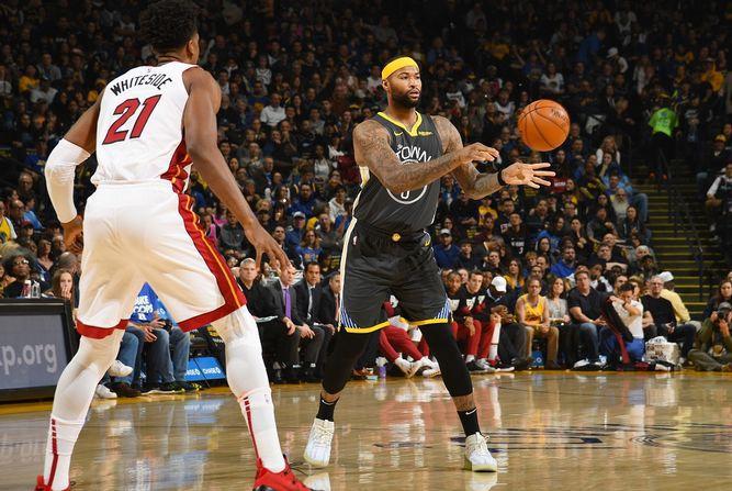 Los campeones Warriors vencen en dramático partido al Heat