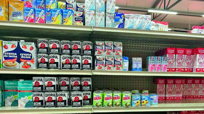 Suspenden entrada de leche de Perú