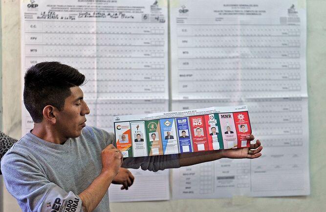OEA pide explicaciones por interrupción de conteo de votos en Bolivia