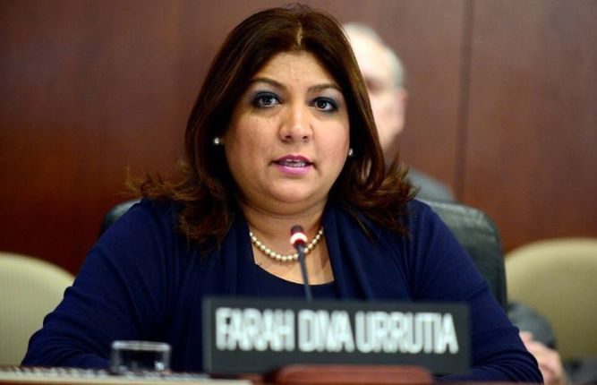 Designan a Farah Urrutia como secretaria de Seguridad Multidimensional de la OEA