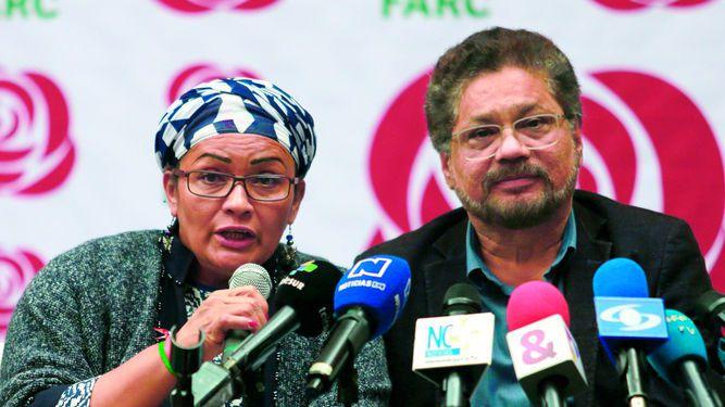 Las FARC inscriben partido político