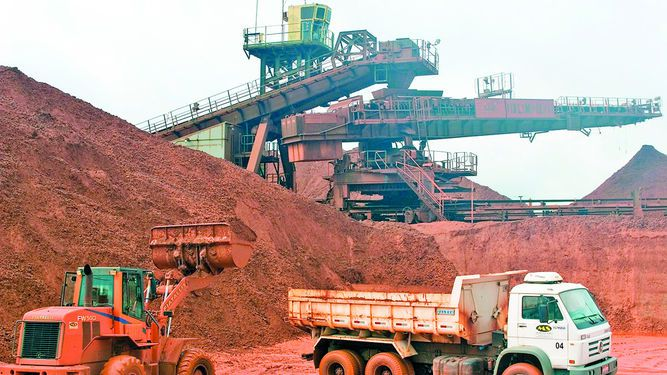 Vale pone en marcha proyecto minero