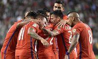 Chile aplastó 7-0 a México y va por Colombia