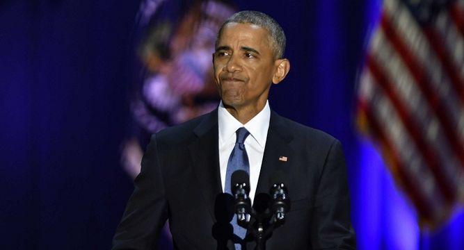 Obama llama a defender la democracia