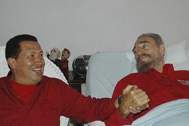 Fidel Castro y la Venezuela de Hugo Chávez y Nicolás Maduro