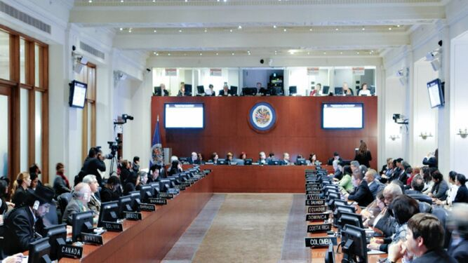 OEA se pronuncia por crisis en Venezuela y Nicaragua