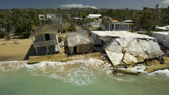 Islas a la deriva en el Caribe