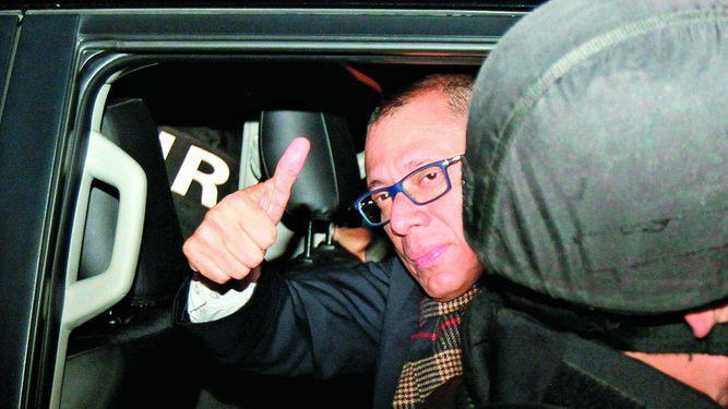 Glas, otra víctima política de Odebrecht